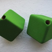 Volume WOOD CUBE XS for Climbing wall_2