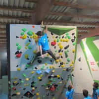 Training center Sloevenian climbing team 16