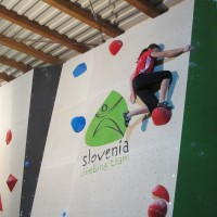 Training center Sloevenian climbing team 6
